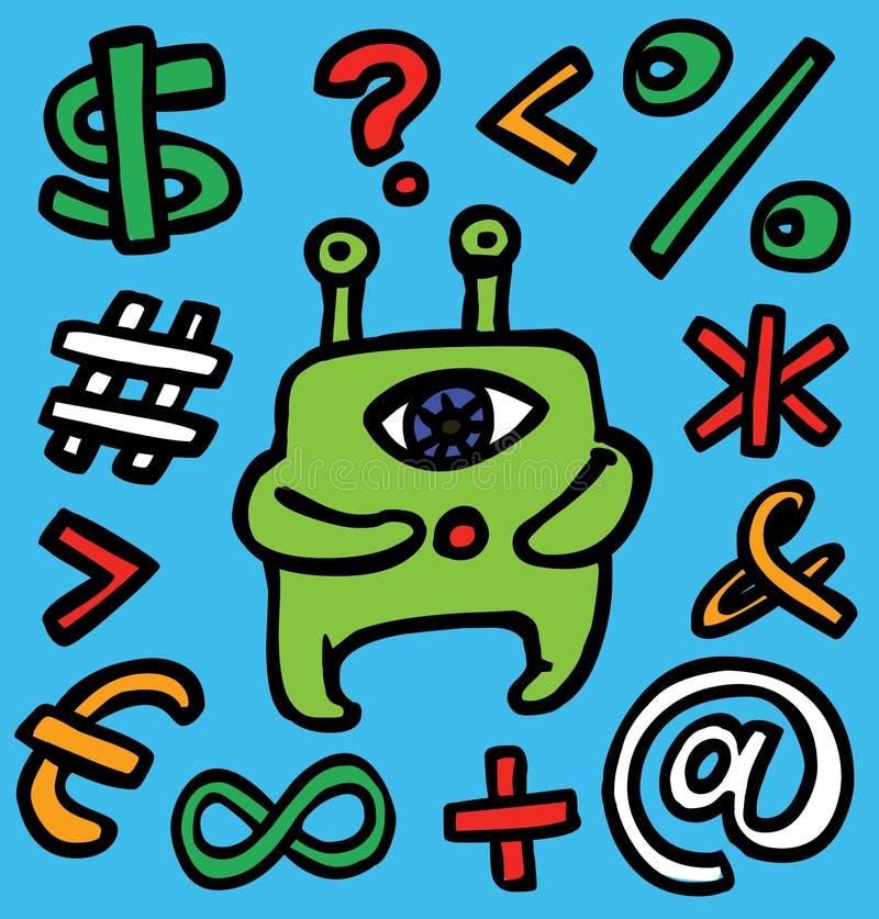 Download Alien stock vector. Image of illustration, mathematics - 7687574