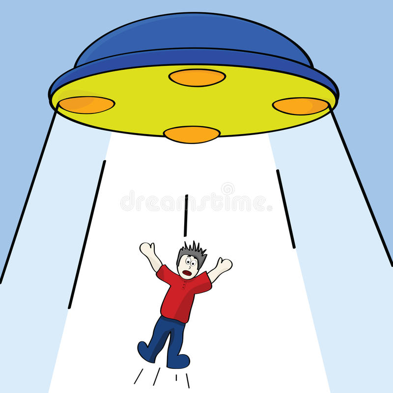 Free Alien Abduction Stock Photography - 19540912
