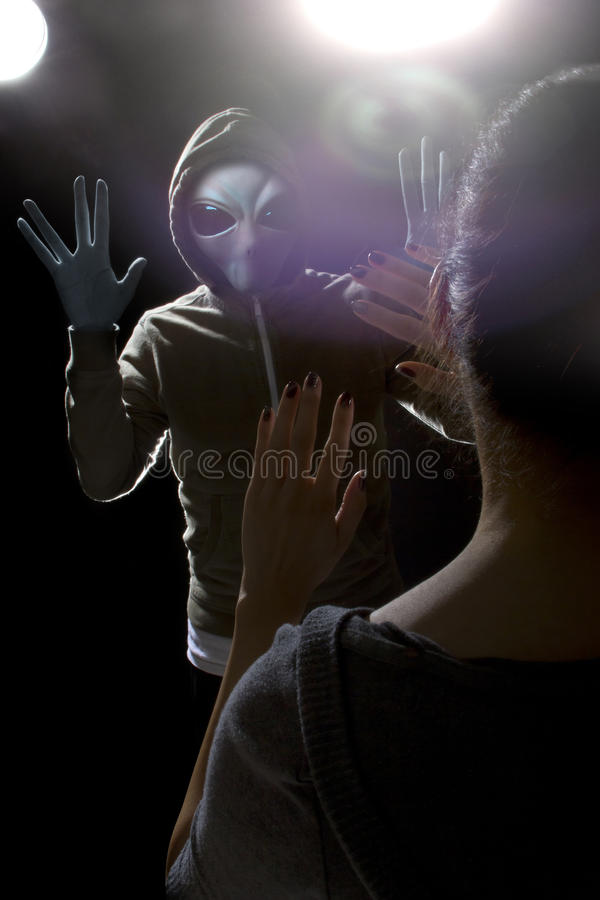 Alien Abduction royalty free stock photo