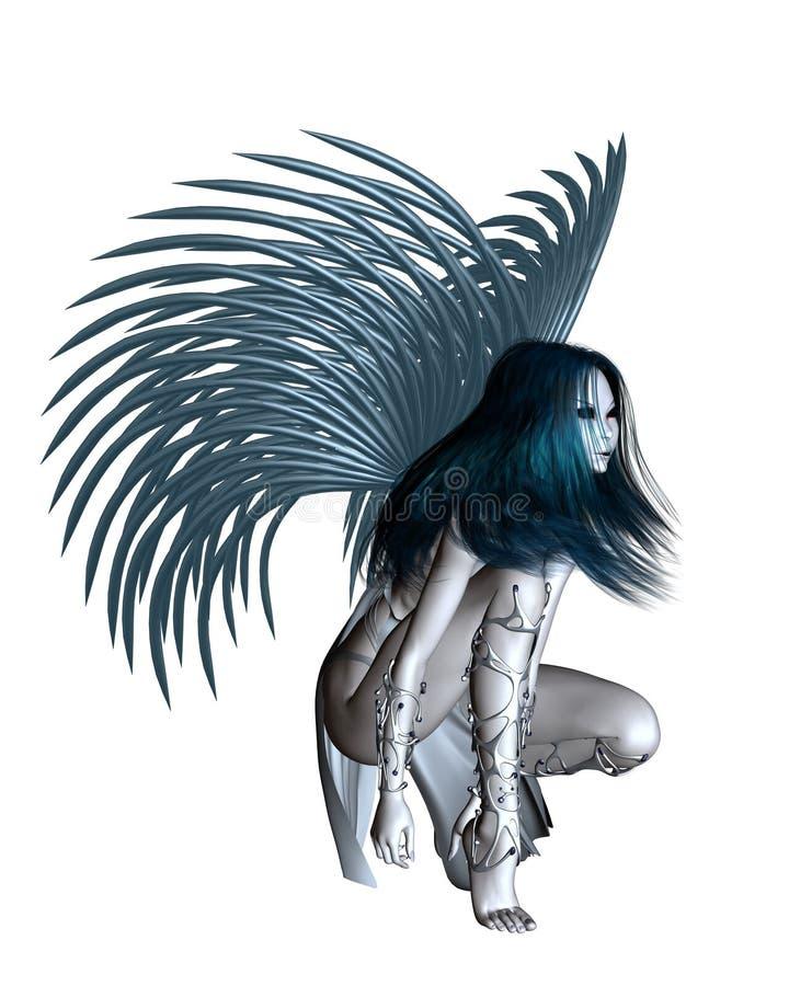 Free Alien Angel - 2 Royalty Free Stock Image - 15552966