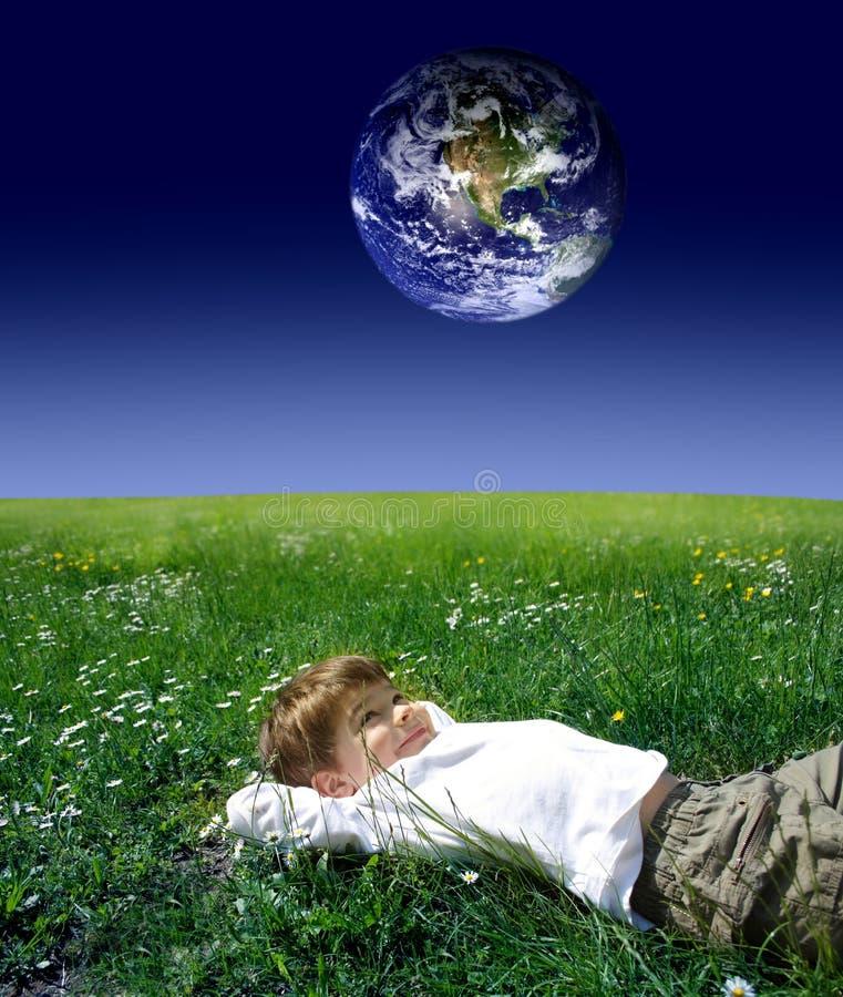 Download Alien child stock image. Image of alien, happy, nature - 6236991