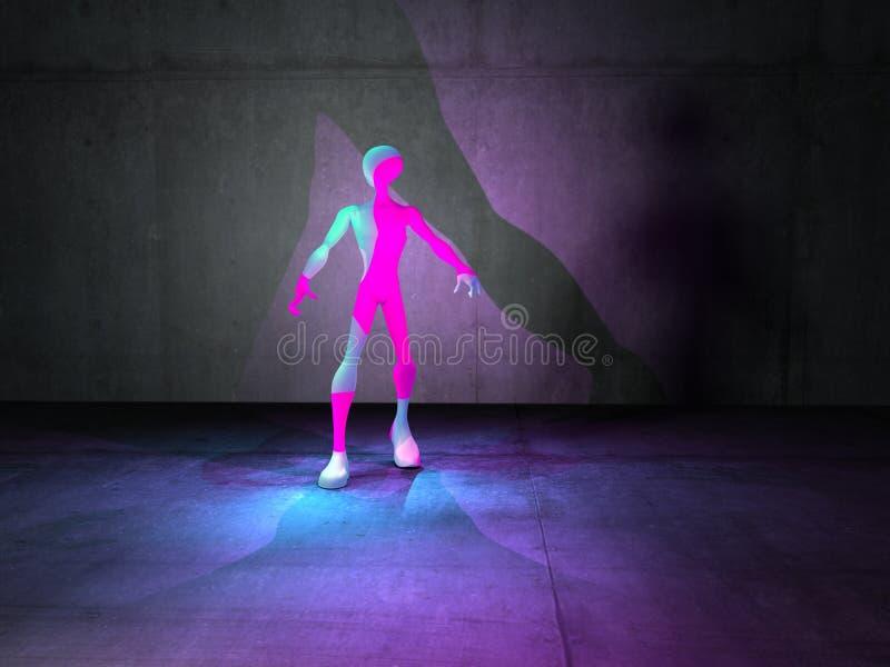 Download Alien creature stock illustration. Image of concept, fantasy - 11471360