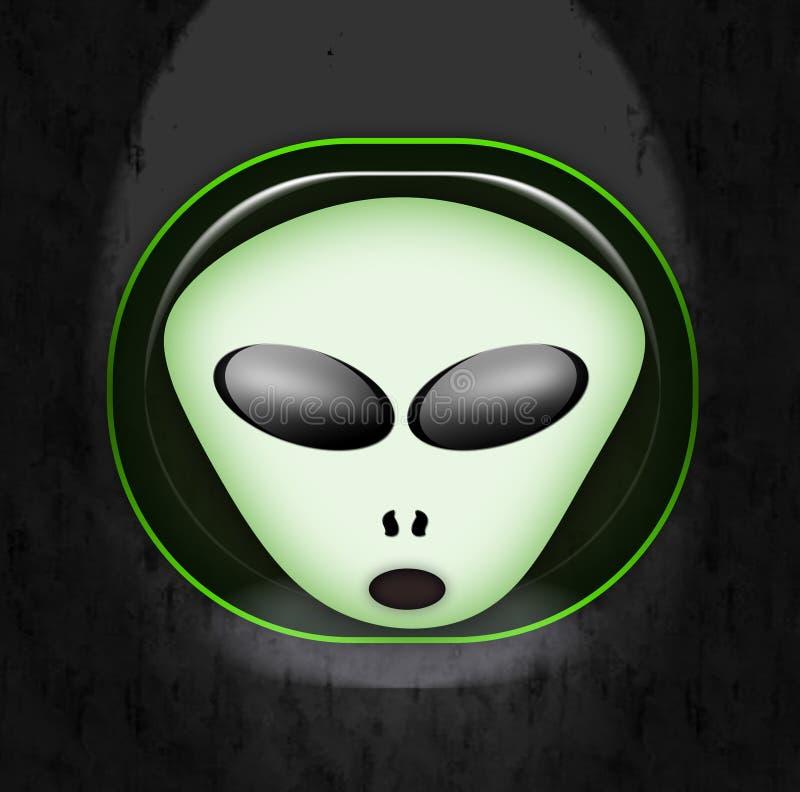 Download Alien face stock illustration. Image of symbol, artwork - 13148526