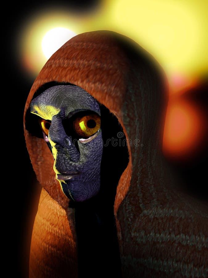 Free Alien Faces 2 Stock Images - 103062924