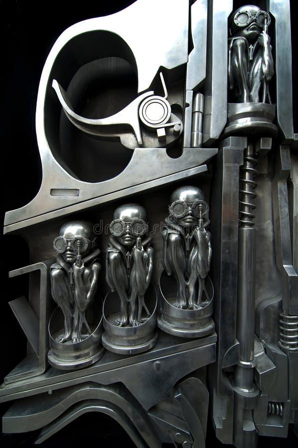 Download Alien gun stock image. Image of creatures, head, criminal - 15695331