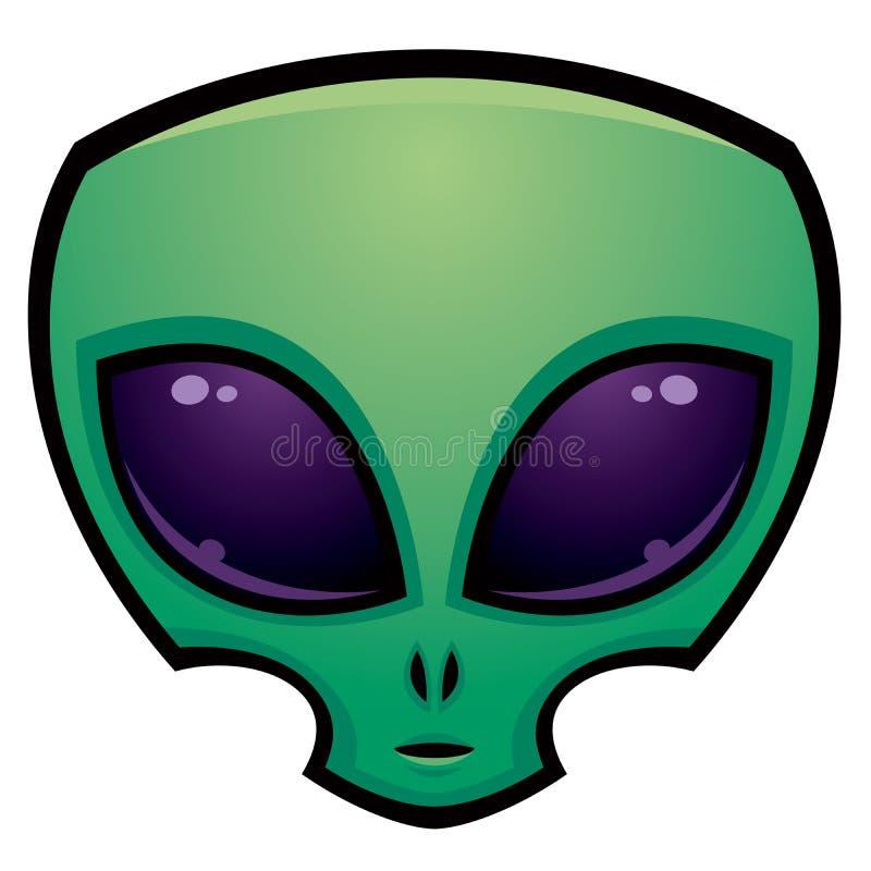 Alien Head Icon royalty free illustration
