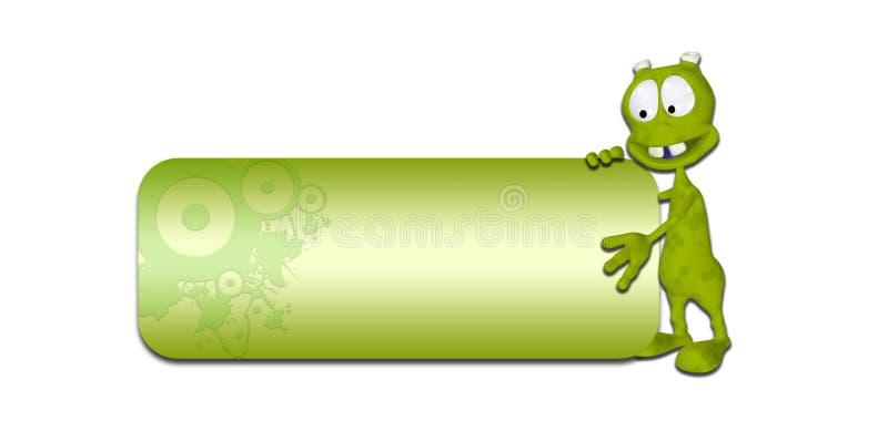 Download Alien Header stock illustration. Image of frame, isolated - 25479368