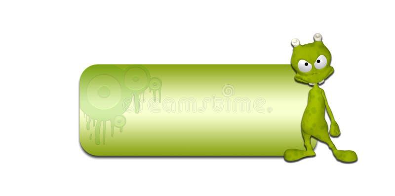 Download Alien Header stock illustration. Image of mutant, design - 25479376
