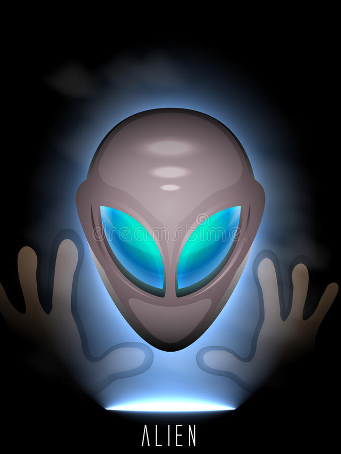 Free Alien Humanoid Royalty Free Stock Image - 45607236