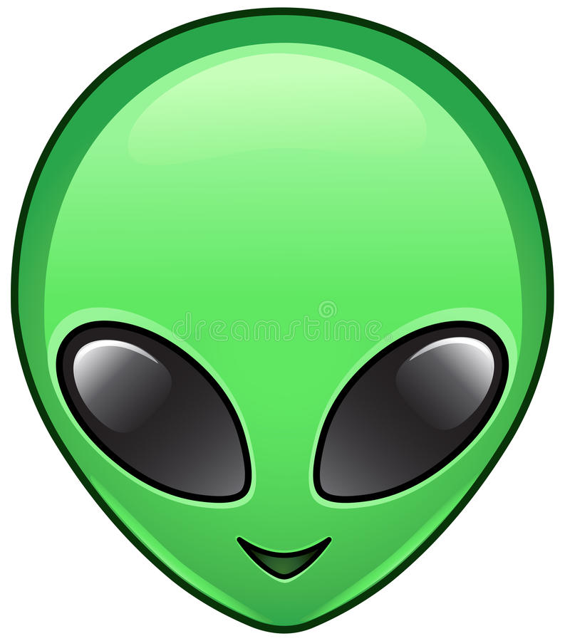 Alien Icon Stock Vector Image Of Graphics Pictogram