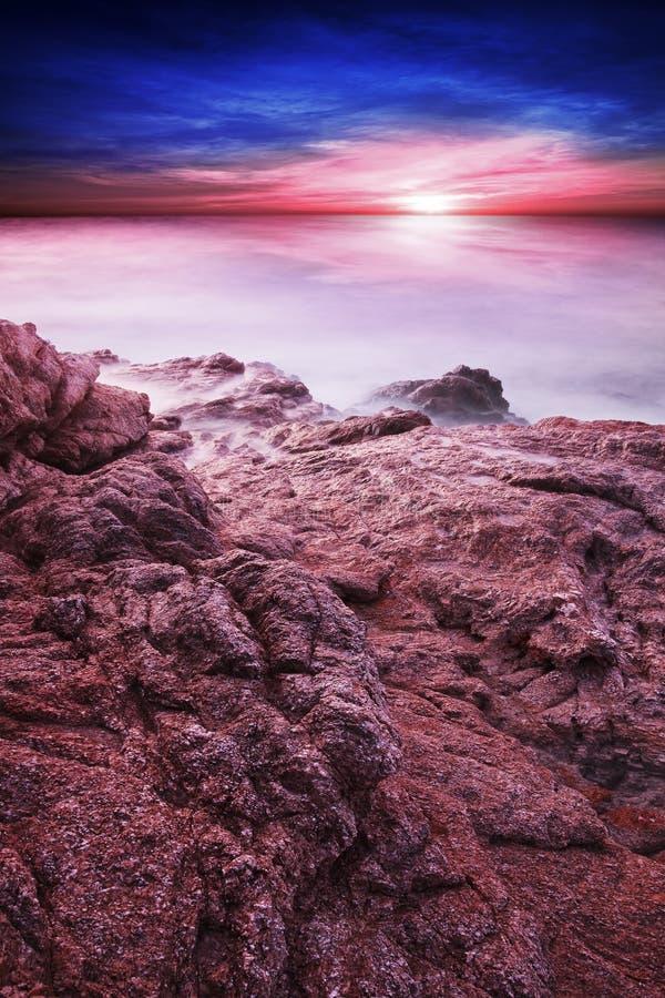 Alien Ocean Fantasy Stock Photography