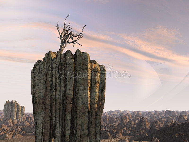 Download Alien Planet Royalty Free Stock Images - Image: 1485999