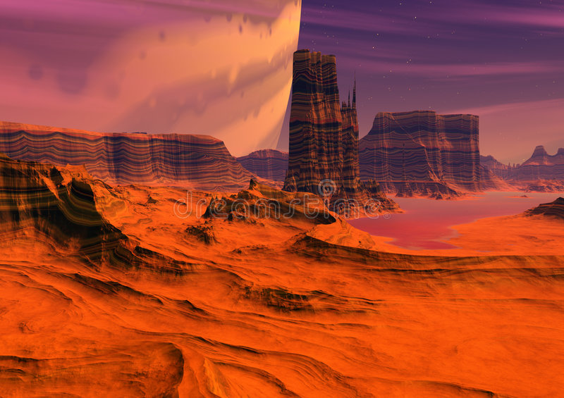 Download Alien Planet Stock Photography - Image: 512762