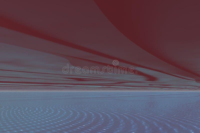 Download Alien Skies stock illustration. Image of natural, setting - 18416341