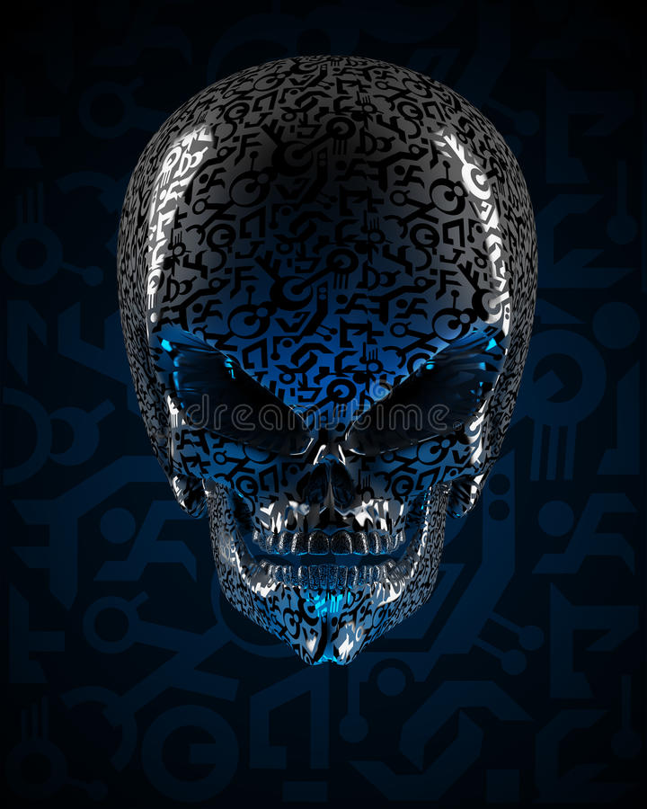 Download Alien Skull Stock Image - Image: 27650031