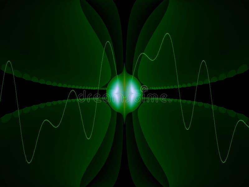 Alien technology stock illustration