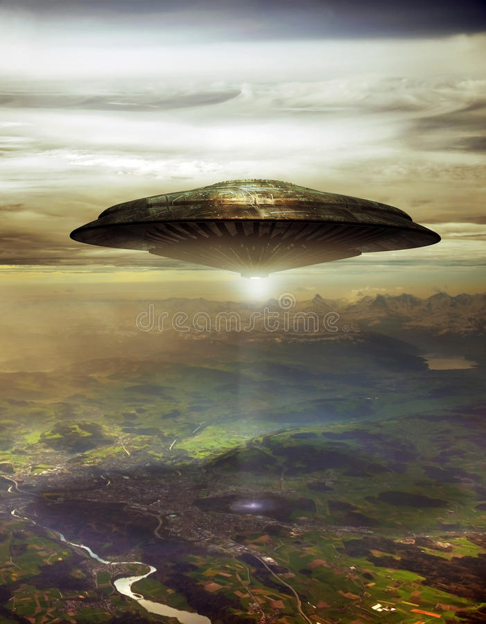 Free Alien Visit Stock Images - 52755584