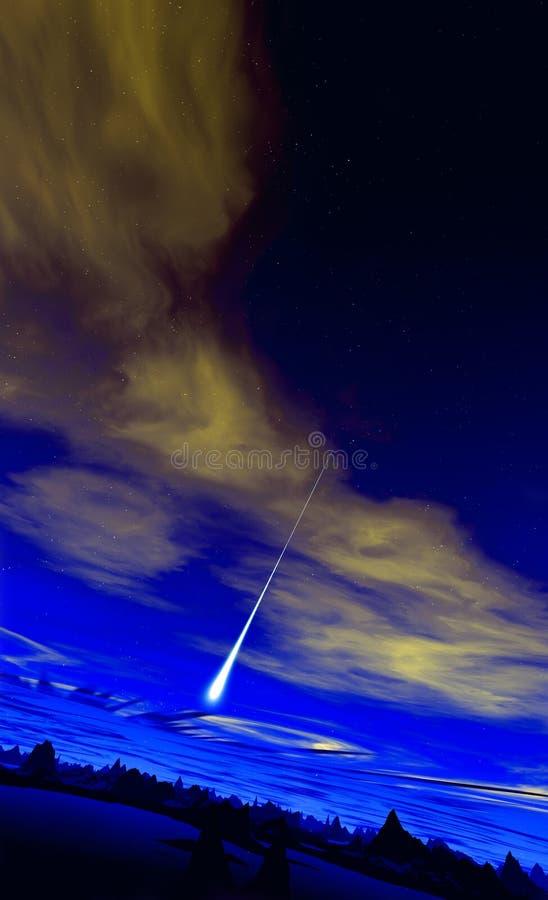 Download Alien World 2 stock illustration. Image of bright, stars - 1418325