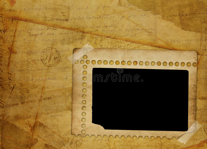 Alienated Frame For Photo Royalty Free Stock Photo