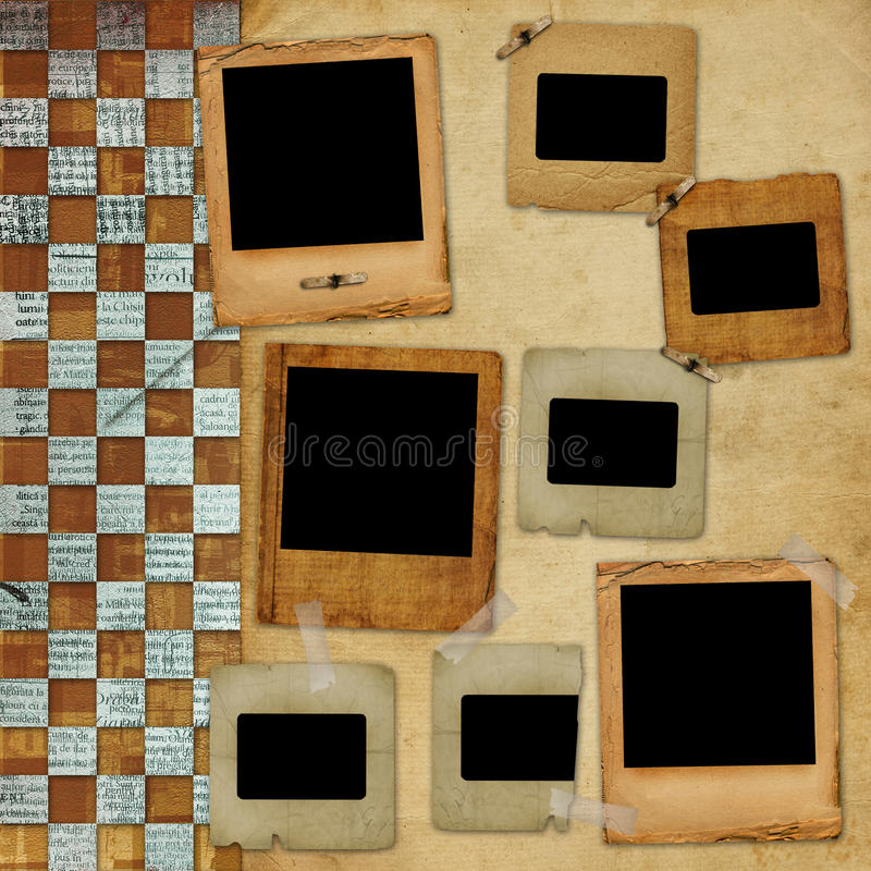 Download Alienated frame for photo stock illustration. Image of journal - 12472295