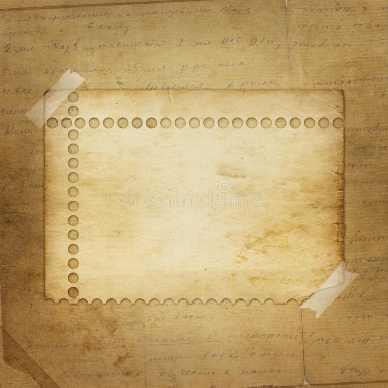 Download Alienated Paper For Announcement Stock Illustration - Image: 12240049