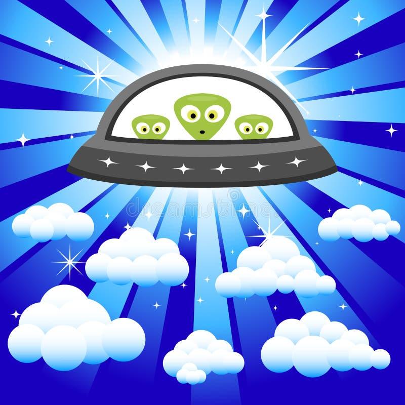Free Aliens In The Sky Stock Photo - 30208150