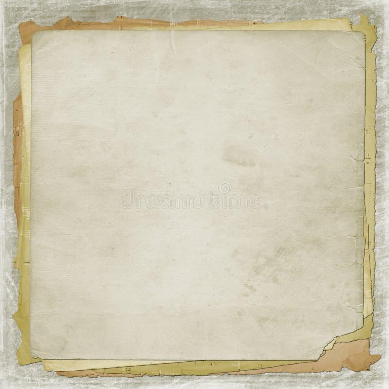 alienujący okładkowy stary papier royalty ilustracja