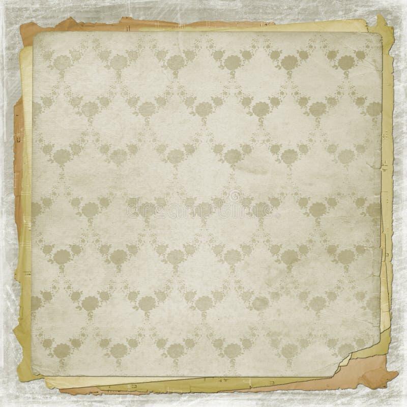 alienujący pokrywy koronki photoalbum ilustracja wektor