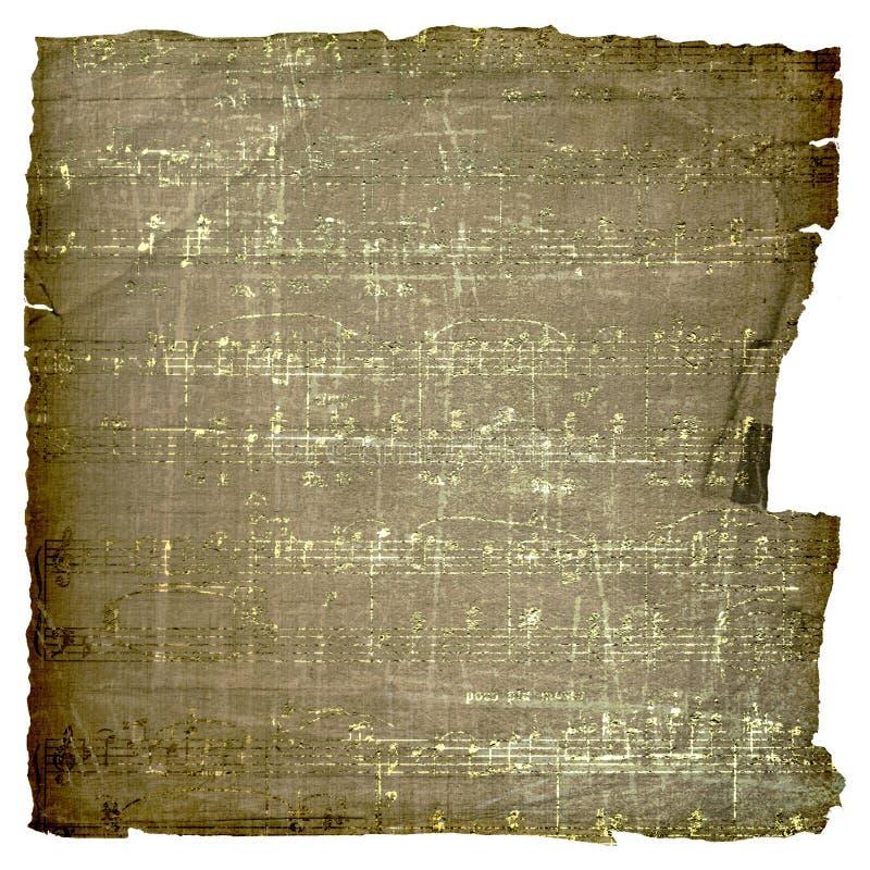 alienujący stary papierowy scrapbooking styl ilustracja wektor