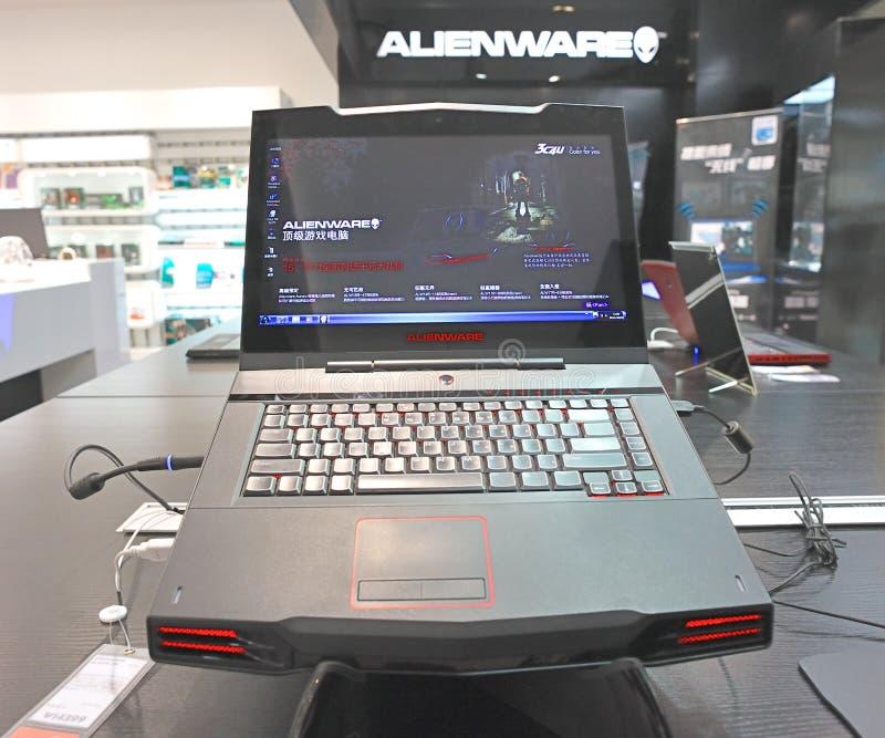 Alienware immagini stock