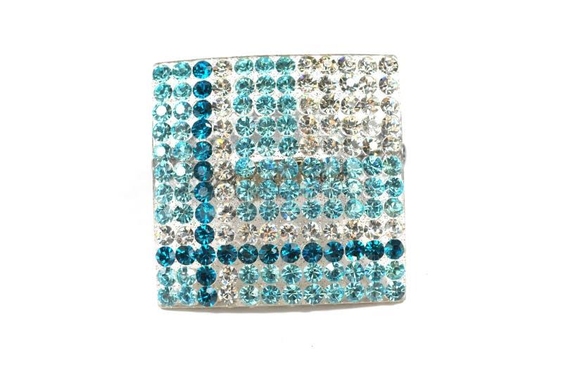 Alignement de diamant photographie stock