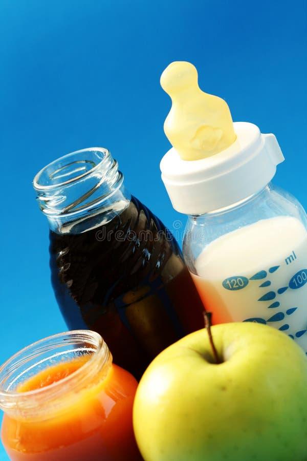 aliment pour bébé photo stock