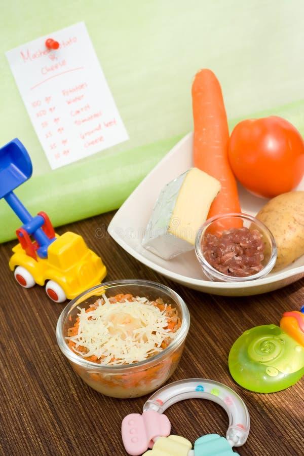 Download Aliment pour bébé sain photo stock. Image du chéri, homemade - 8653616