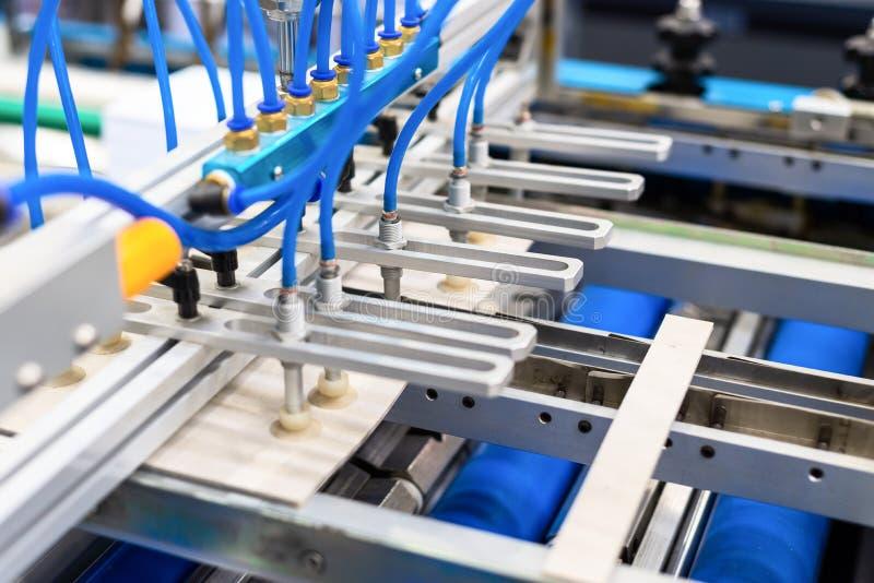 Alimentador del papel neumático Impresora moderna imagen de archivo