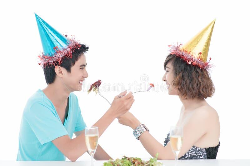 Alimentation de fête photographie stock