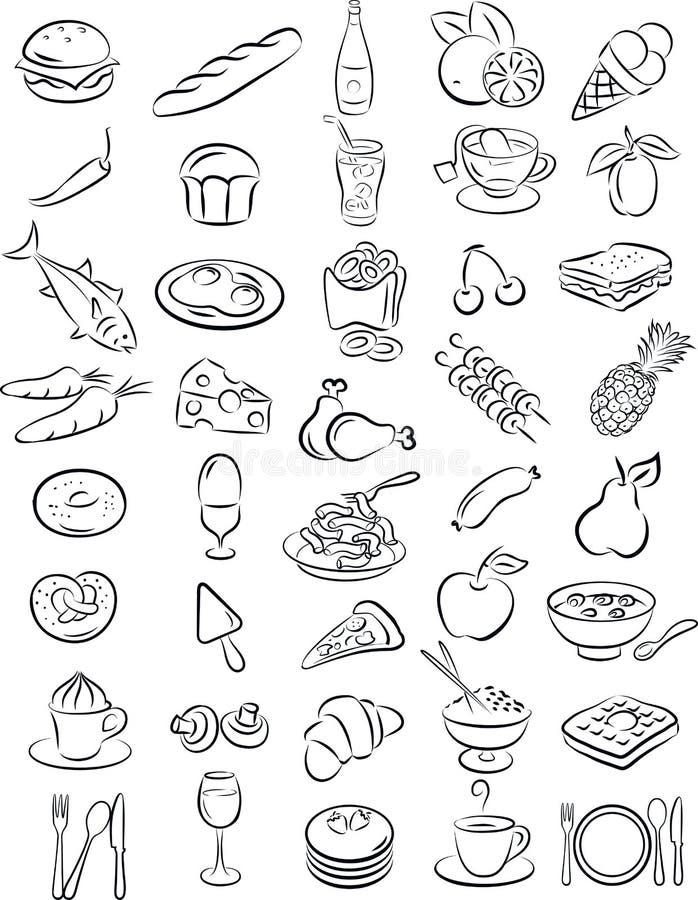 Alimenti royalty illustrazione gratis