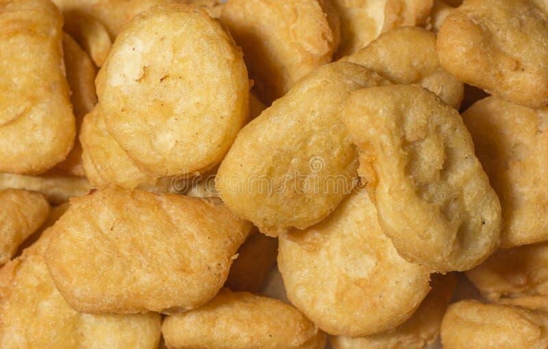 Alimenti fritti dorati immagine stock libera da diritti