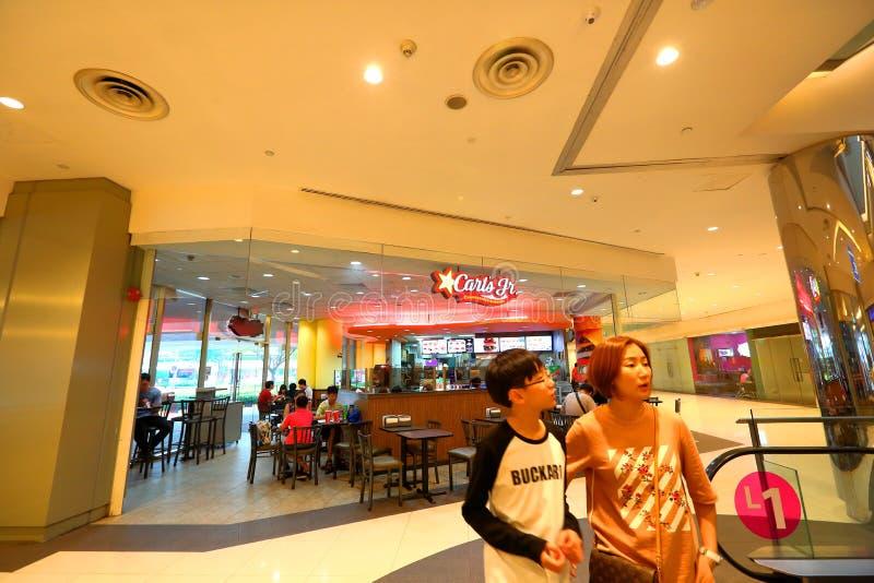 Alimenti a rapida preparazione minori di Singapore Carl immagini stock libere da diritti