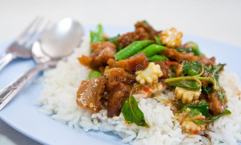 Alimenti tailandesi fotografie stock libere da diritti