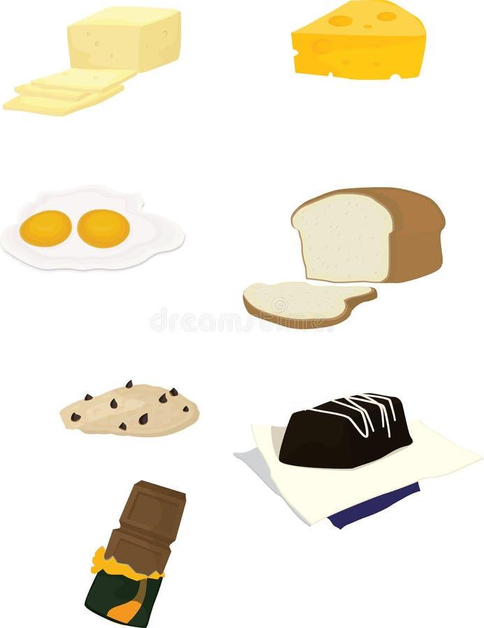 Alimento ilustração do vetor