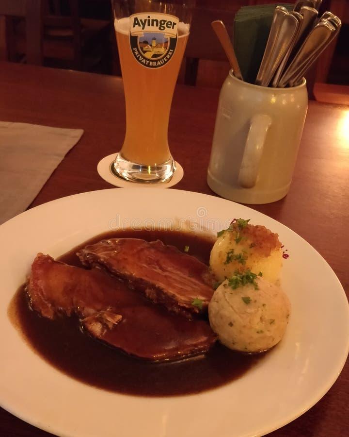 Alimento alemão foto de stock royalty free