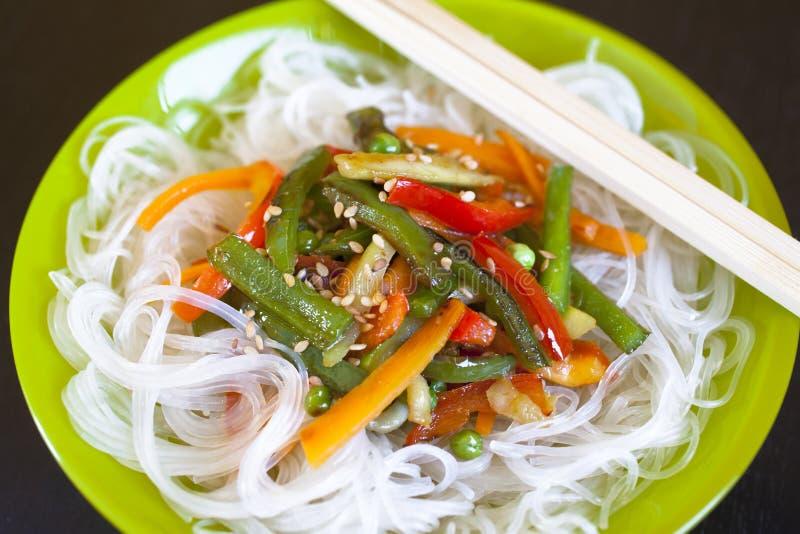Alimento asiático fotografía de archivo