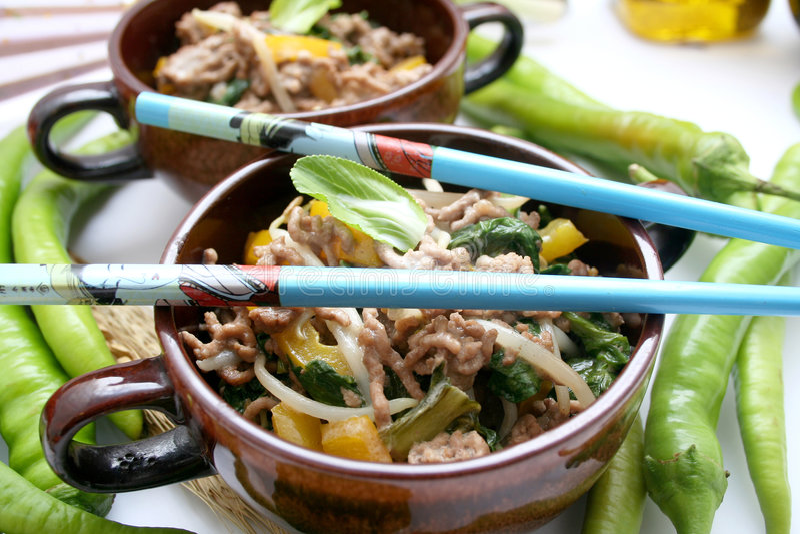 Alimento asiático foto de stock