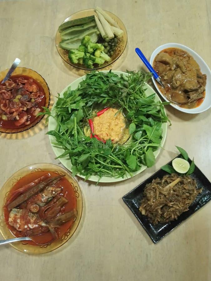 Alimento asiático fotografia de stock