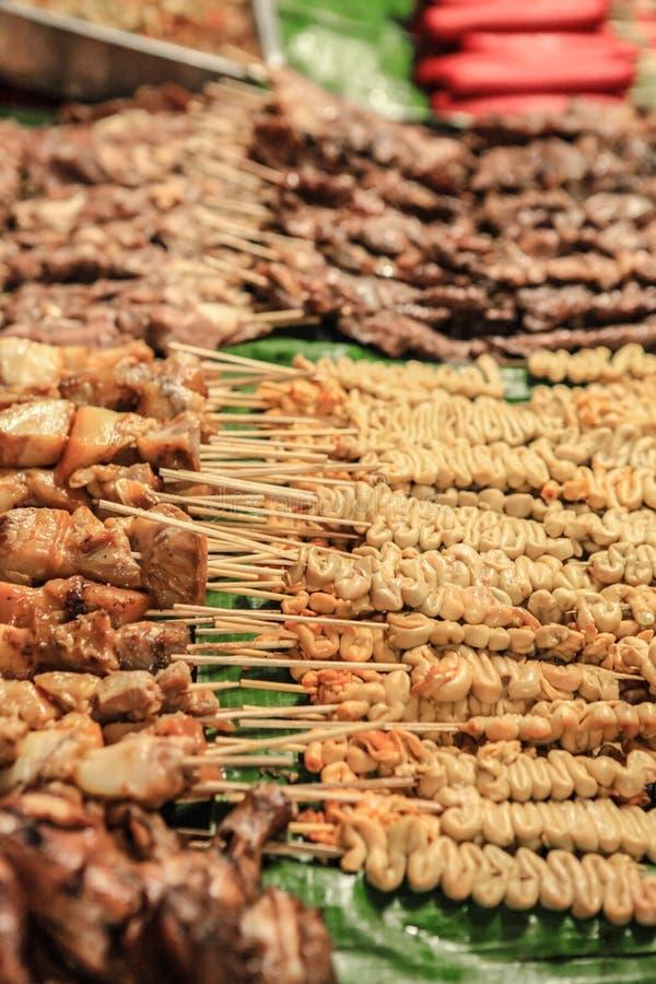 Alimento asiático de la calle fotos de archivo