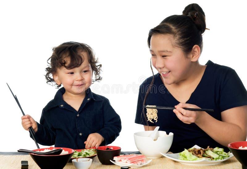 Alimento asiatico. immagini stock