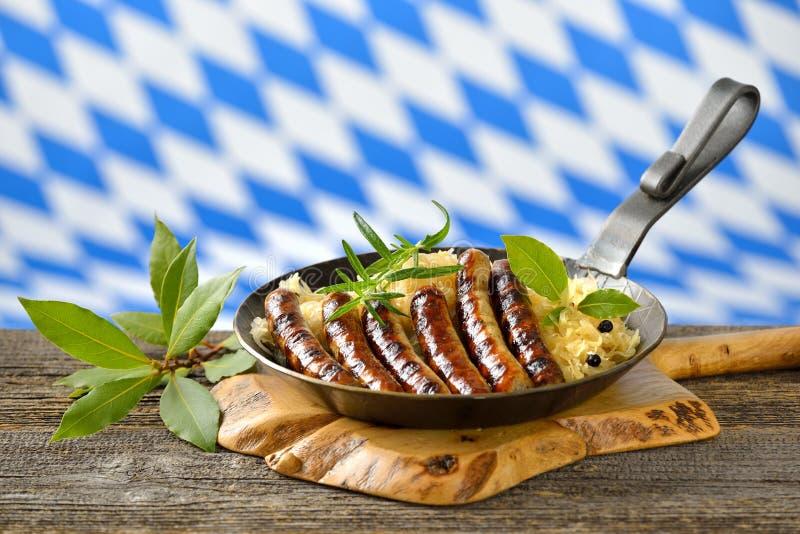 Alimento bávaro imagens de stock royalty free