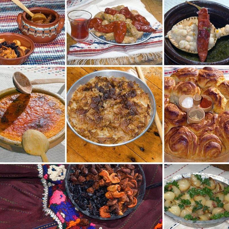 Alimento búlgaro tradicional foto de archivo