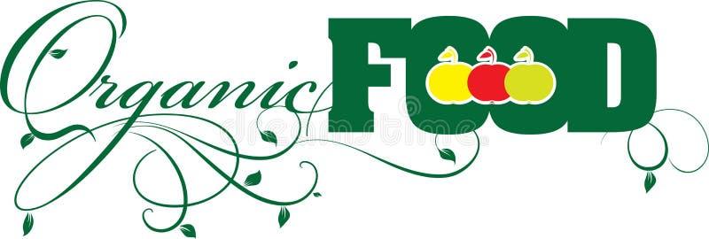 Alimento biológico ilustração royalty free