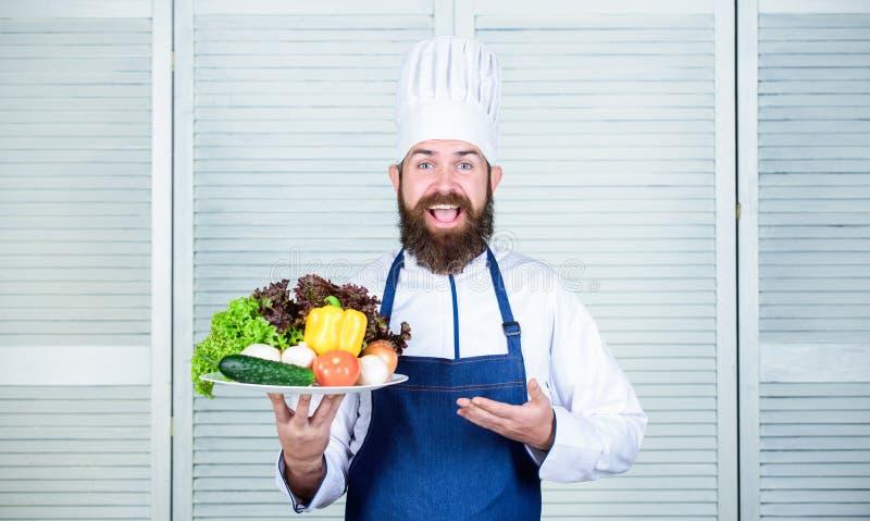 Alimento biológico Receita culinária orgânica Produto amigável do eco do uso do cozinheiro chefe mestre somente Eco e conceito or fotos de stock royalty free
